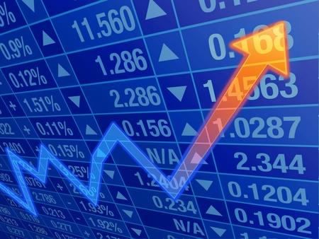 business chart Stock Photo - 16966857