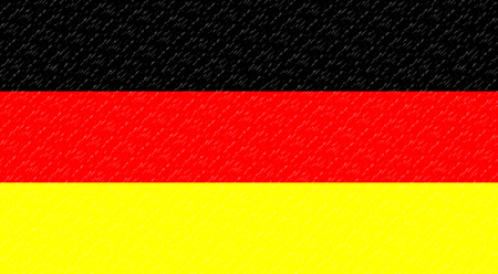Flag German. Banner patriot, national and freedom and constitution, vector illustration