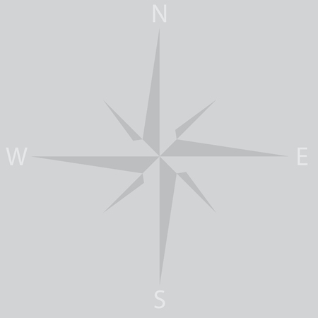 compass rose: Windrose star icon compass. Wind rose and compass, compass rose and windrose , star , travel direction, adventure navigation. abstract flat design illustration