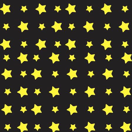 yellow star: Yellow star pattern. Stars background and stars vector, starburst and stars sky, pattern gold star. Vector flat design illustration Illustration