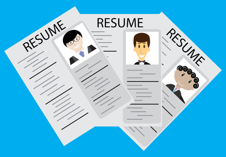 now hiring: Hiring, employee selection.Rrecruitment and job, now hiring and job interview, vector illustration
