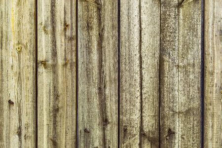Wooden old vertical boards. Abstract background. Front view Stok Fotoğraf