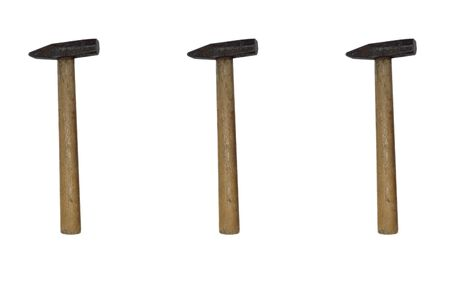 hammers isolated on white background