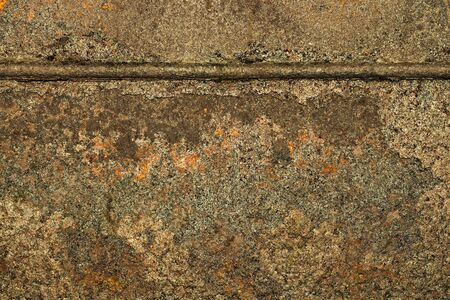 Fragment of striking metal sheet with weld. Textural background. Close up.
