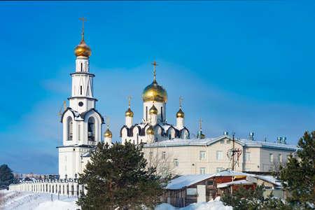 Orthodox Church. Front to view. Editöryel
