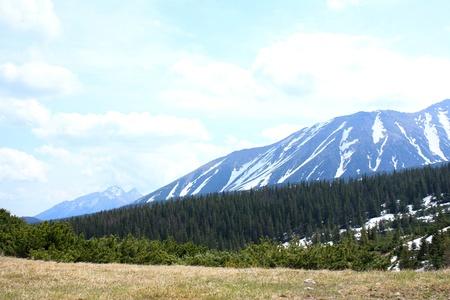 The beautiful mountain in Poland photo