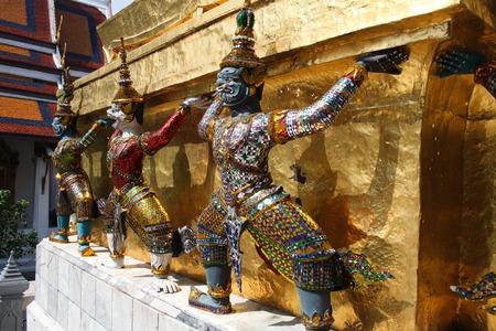 historical buildings: Historical buildings in Grand Palace Bangkok, Thailand