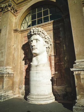 stood: The statue once stood near the Colosseum Editorial