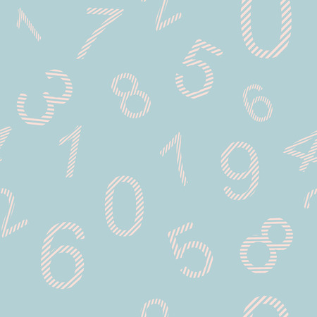 for boys: Endless pattern numbers for design wallpaer for boys, wrapping paper etc