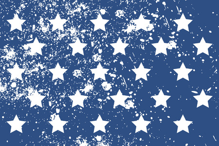 independance: Pattern with american stars in grunge style. Cool print on T-shirts, fabric etc.