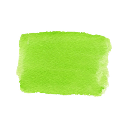 Watercolor green background with bright fresh color. friendly for eco design.