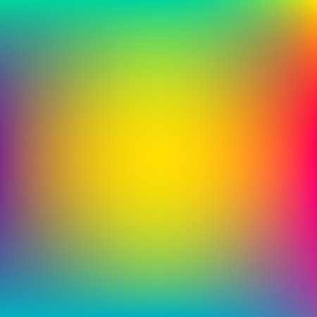 Abstract blurred colorful background. Unfocused style backdrop. Vector illustration. Neon colors.
