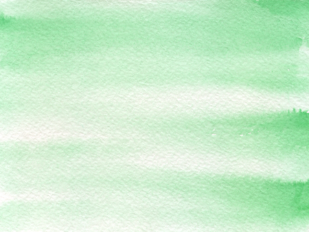 Hand drawn watercolor background with mint green color.. Hand painted colorful element for modern design. Standard-Bild