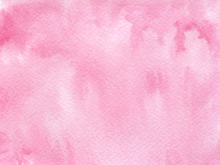 Hand drawn watercolor background with bright pink color.. Hand painted colorful element for modern design.