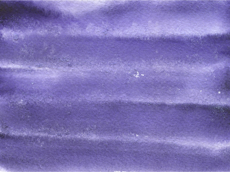 Watercolor background with paper texture, Violet horizontal stripes.