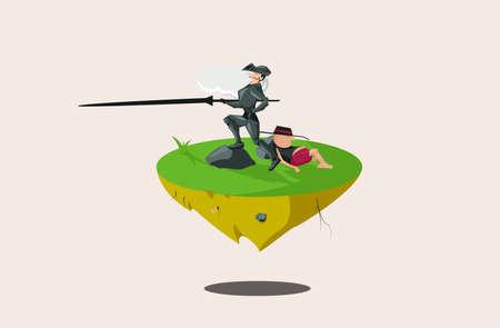 Don Quichotte Illustration