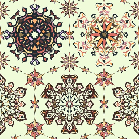 Abstract retro seamless pattern Stock Vector - 11660532