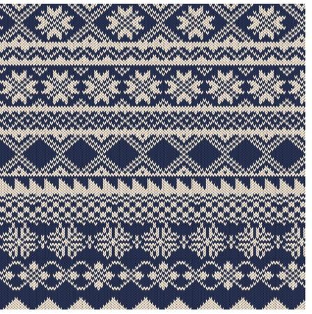 knitted background: De fondo de punto en la Feria del estilo de la Isla Vectores