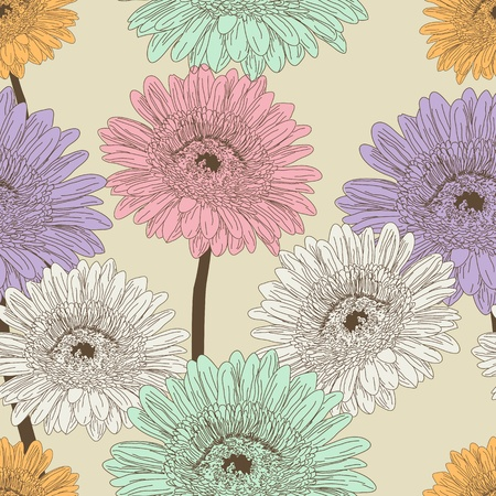 Floral seamless pattern Stock Vector - 11881728