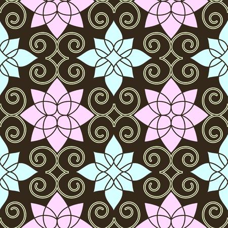 Retro seamless pattern Stock Vector - 11881479