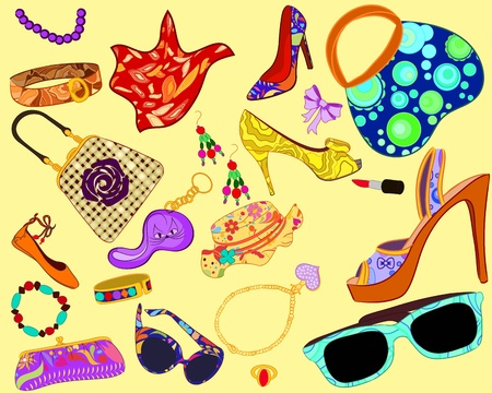 Womans accessory Vector