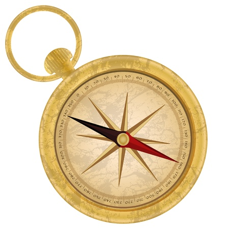 windrose: Golden compass icon