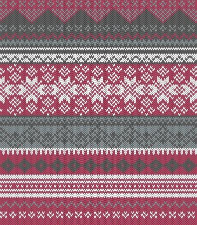 fair isle: Fondo maglia in Fiera stile Isle