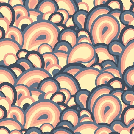 sateen: Seamless geometric pattern Illustration