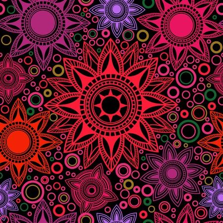 arabesque: Brillante sin patr�n abstracto Vectores