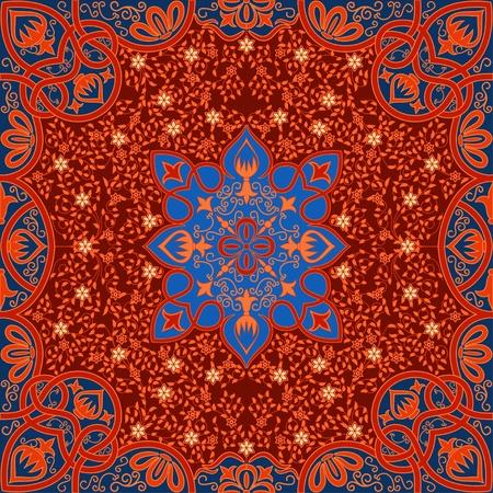 꽃 당초 무늬 장식