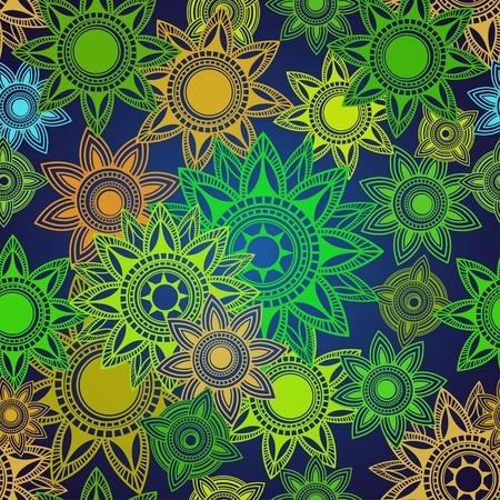 Seamless texture of abstract circles Stock Vector - 14254768