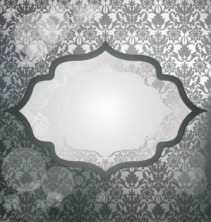 cartoline vittoriane: Luxury argento invito