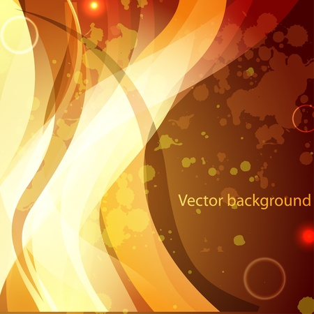 colourful fire: Abstract background for design Illustration