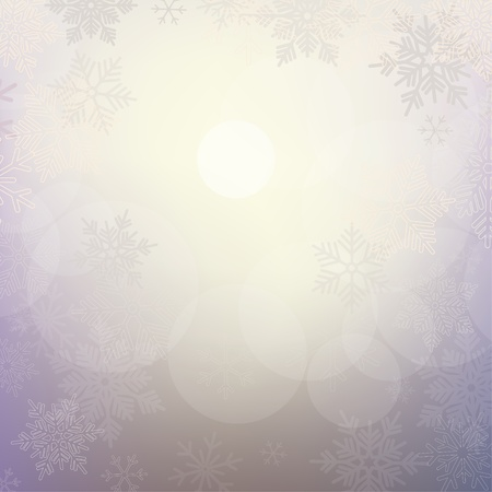 Abstract Christmas background with snowflakes Stock Vector - 17883811