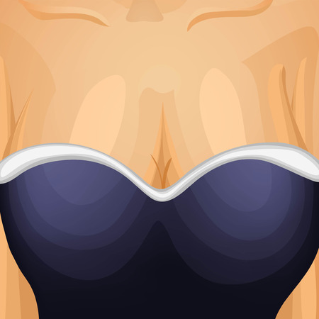 Sexy lady background Vector