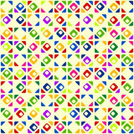 carpet texture: Seamless bright geometric pattern