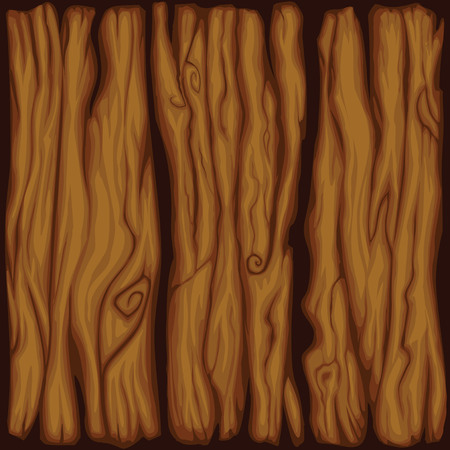 wood board: Vector cartoon wood board texture