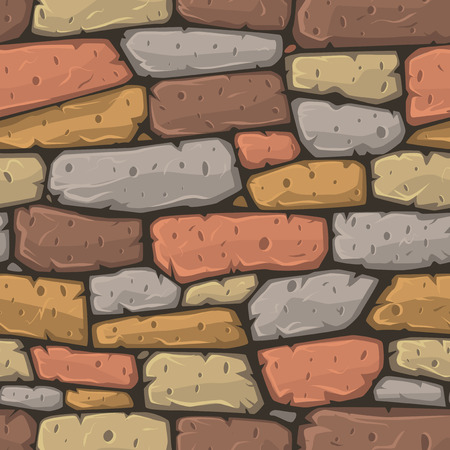 cartoon earth: Seamless cartoon stone texture. Vector illustration.