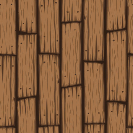cartoon board: Vector wooden block seamless pattern. Cartoon wooden texture.