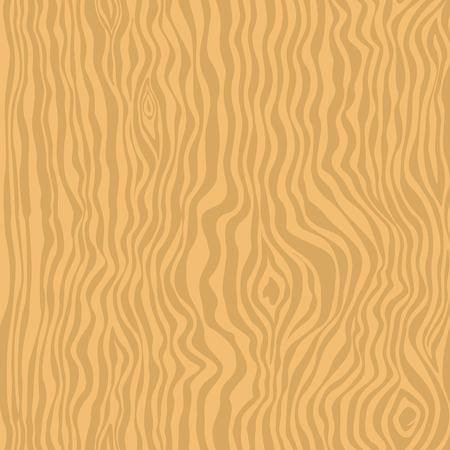 Light wood seamless texture Vector illustration.