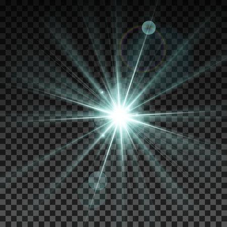 Lighting spark. Vector Illustration. Illustration