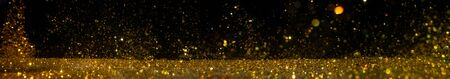 Abstract of christmas and bokeh light with glitter background . Standard-Bild