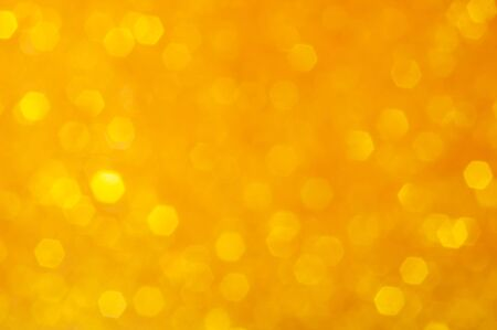 Abstract background with bokeh yellow. Bokeh texture .