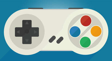 Gamepad for old game consoles