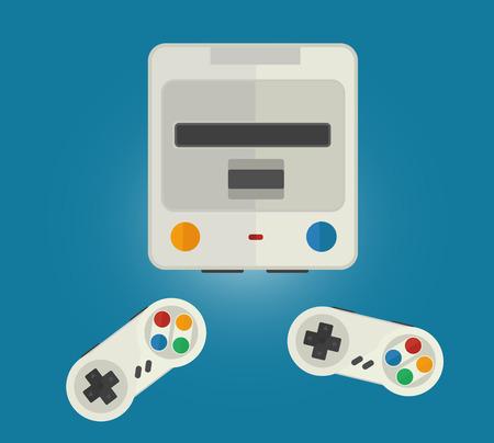 Consola para juegos de computadora Foto de archivo - 98087474