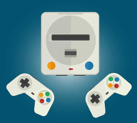 Console for old 8 bit and 16 bit computer games