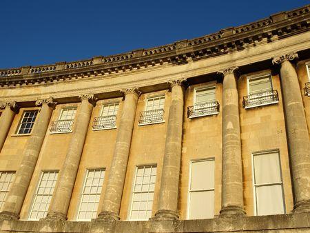 Georgian Architecture (The Royal Crescent, Bath, UK) photo