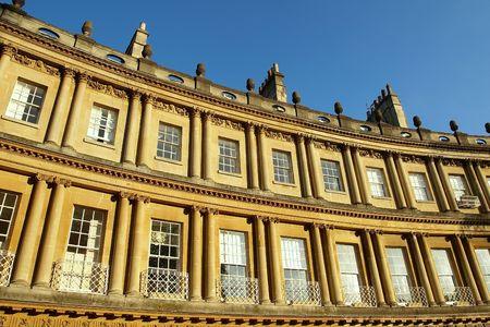 Georgian Architecture (The Circus, Bath, UK) photo
