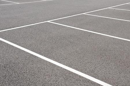Empty Parking Spaces Stock Photo - 8297288