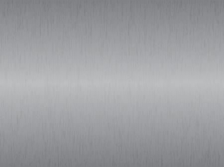 Silver metal texture, vector illustration Stock Vector - 9542955